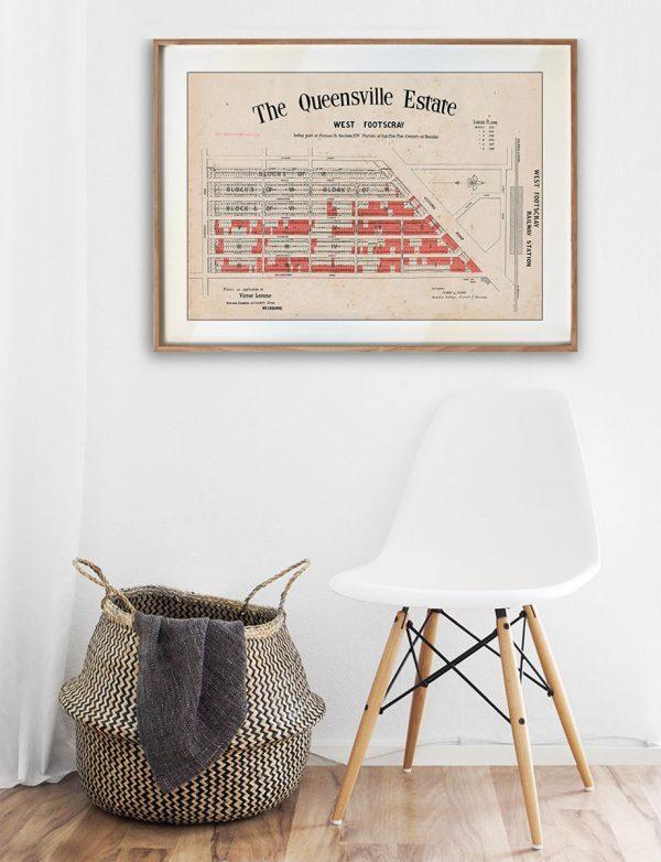 The Queensville Estate - Kingsville | Timber Frame | Melbourne | Print modern
