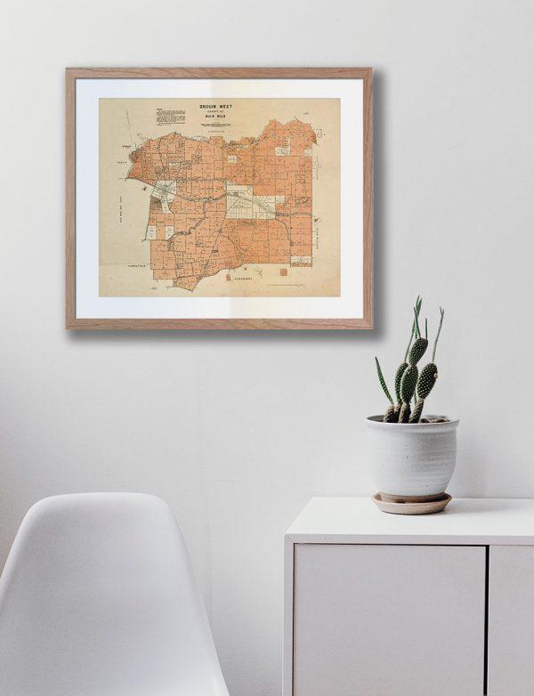 Print Modern | Buln Buln | frame