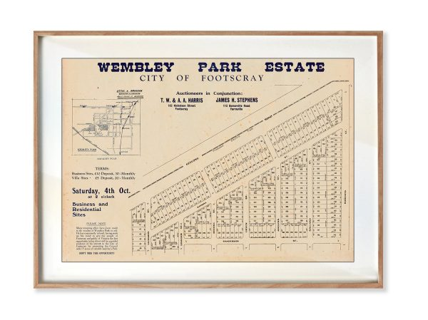 Historical maps   Interior Decor   Melbourne   Yarraville   Inner West