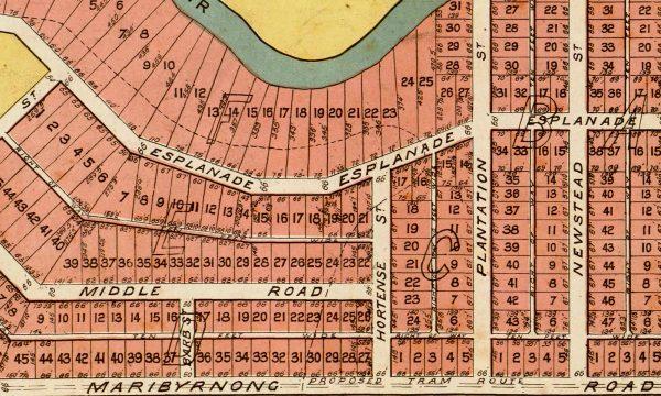 Historical maps   Interior Decor   Melbourne   Maribyrnong   Inner West