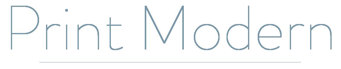 Print Modern logo