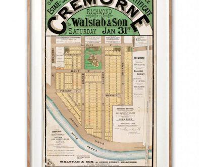 Cremorne map