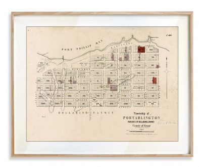 Historical maps | Portarlington | Maps | Print modern