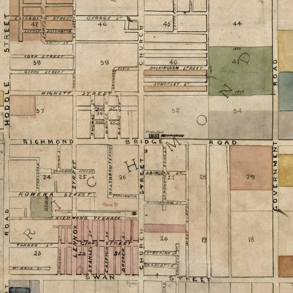 Maps   Richmond-Collingwood-Map   Print modern