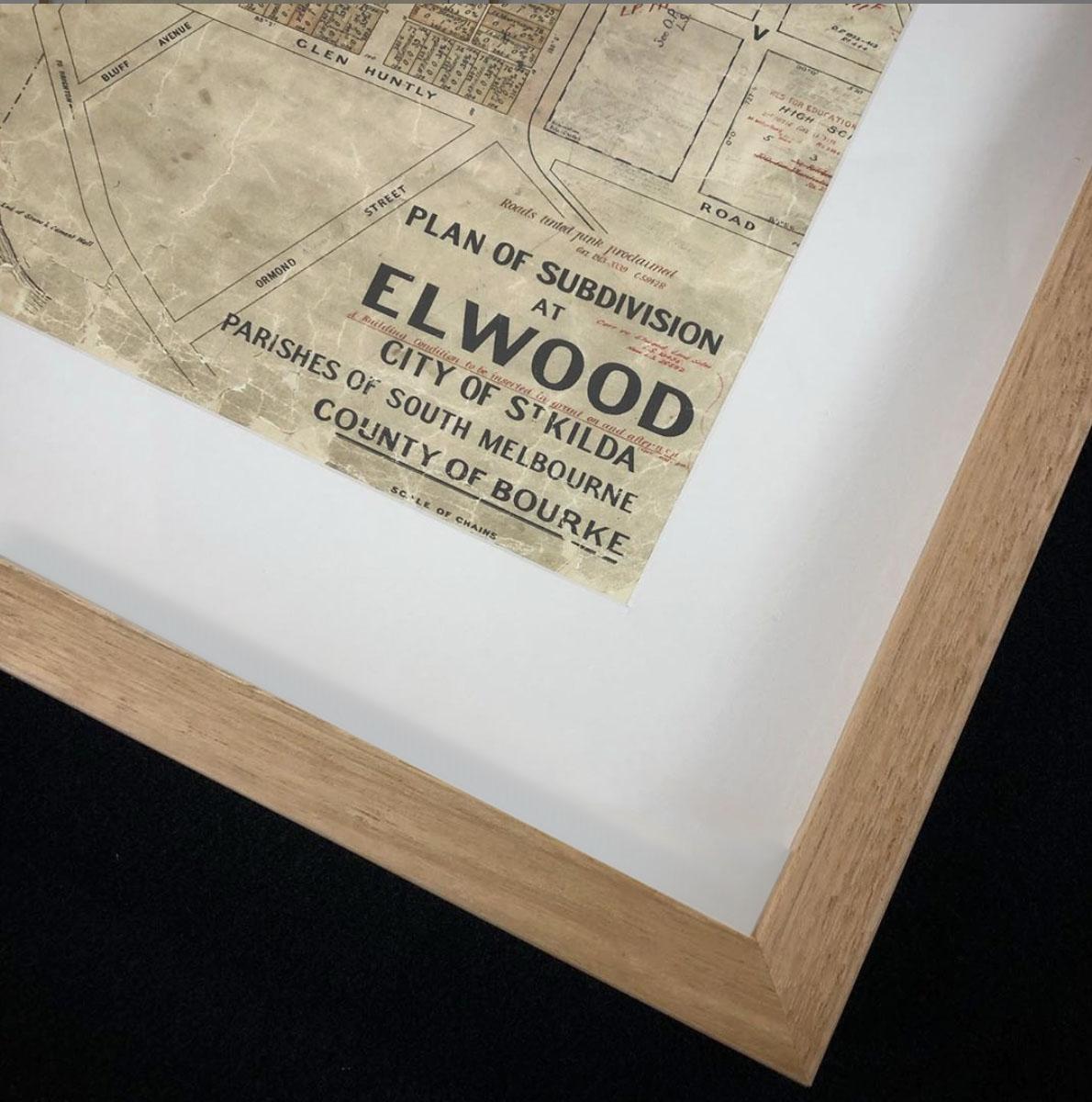 Historical maps | Maps | Interior Decor | Melbourne | Print modern